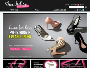 Shoeaholics website