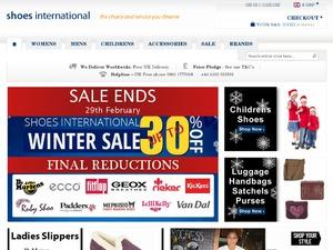 Shoes International website