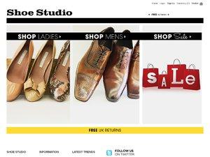 Shoe Studio website