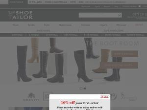 Shoe Tailor website