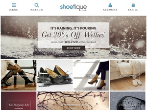 Shoetique website