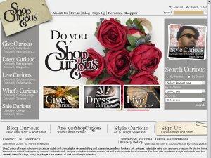 ShopCurious website