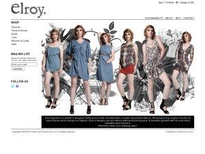 ShopElroy website