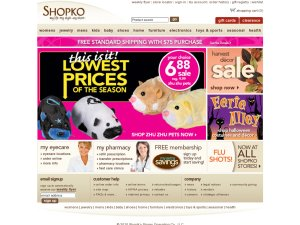 Shopko website