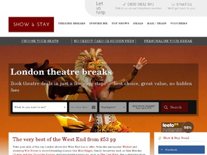 Show-and-Stay website