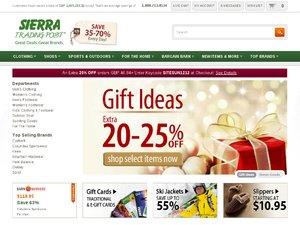 Sierra Trading Post website
