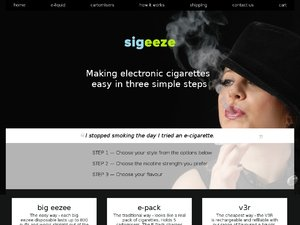 Sigeeze website