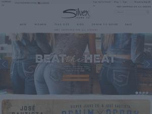 Silver Jeans website