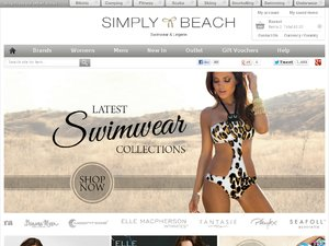 Simply Beach website