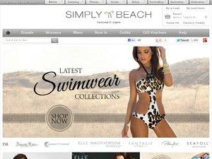 Simply Beach website