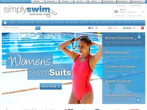 Simply Swim website