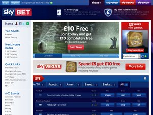 SkyBet website