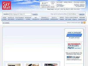 SkyMall website