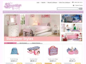 Sleepover Company website