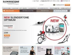 Slendertone website