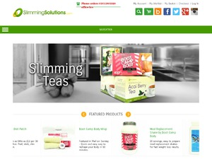 Slimming Solutions website