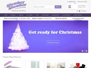 Slumber Slumber website