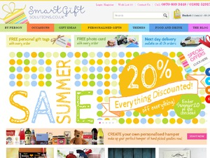Smart Gifts Solutions website