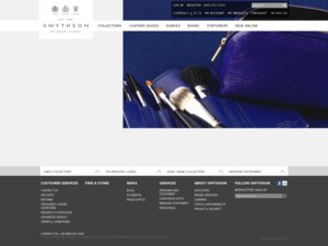 Smythson website