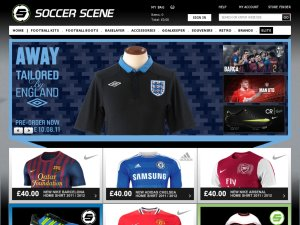 Soccer Scene website