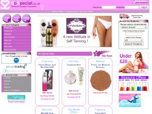 SoSpecial website