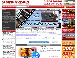 Sound and Vision website