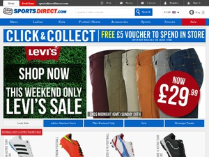 SportsDirect website