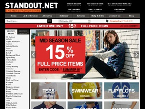 Stand Out website