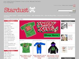 Stardust Kids website