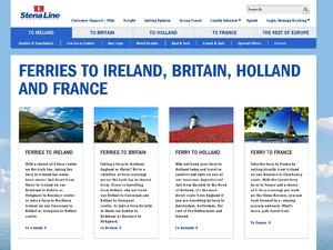 Stena Line website