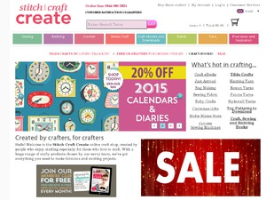 Stitch Craft Create website