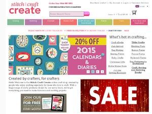 Stitch Craft Create website
