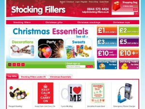 Stocking Fillers website