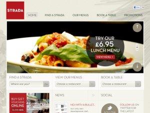Strada website