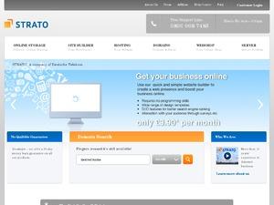 STRATO website
