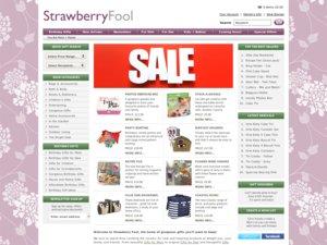 Strawberry Fool website