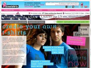 Streetshirts website