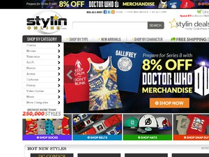 StylinOnline website