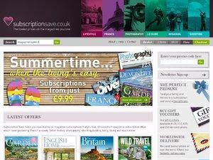Subscription Save website