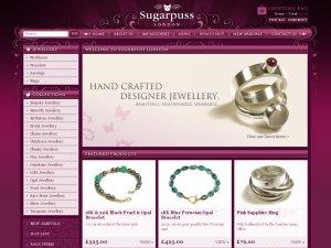 Sugarpuss London website