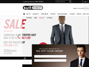 Suit Direct website