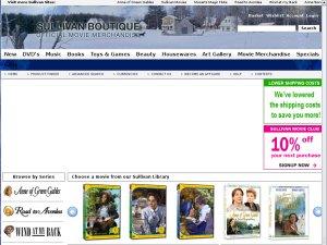Sullivan Boutique website