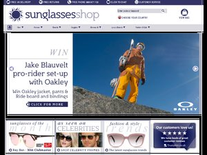 Sunglasses Shop website