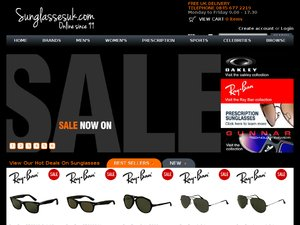 Sunglasses UK website