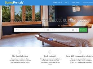 Sunnyrentals website