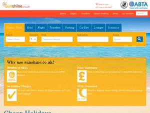 Sunshine.co.uk website