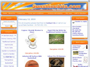 Sunshinebits website