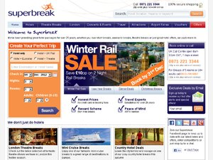 Superbreak website