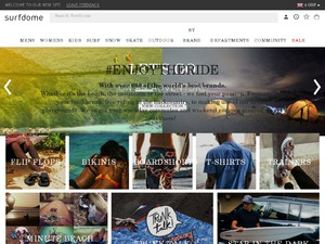 Surf Dome website