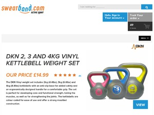 Sweatband website